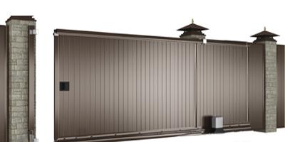 ДорХан Сдвижные ворота