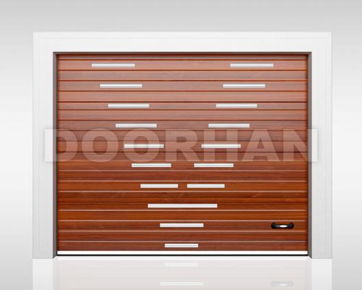 гаражные ворота премиум DOORHAN