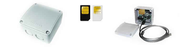 модуль GSM DoorHan управление смартфоном
