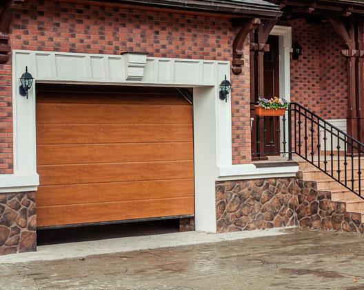 гаражные ворота yett