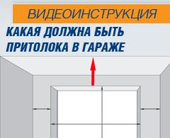 инструкция какая притолока для ворот
